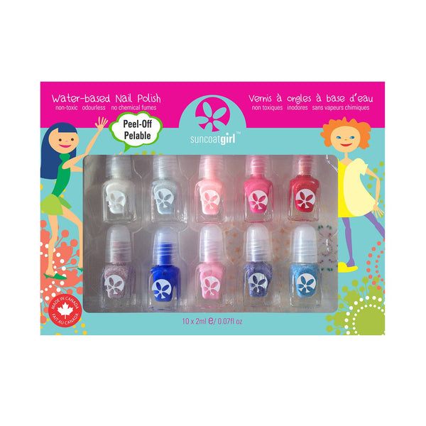 *COMING SOON* Suncoat Peel-Off Mini Nail Polish Set