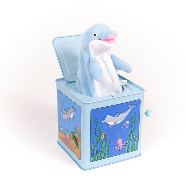 *NEW* Jack Rabbit Designs Dolphin Jack-in-the-Box