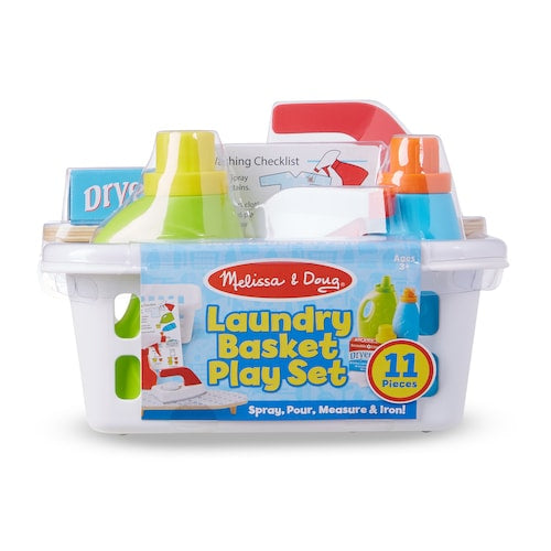 Melissa & Doug Laundry Basket Playset