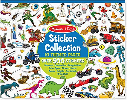 Melissa & Doug Sticker Collection Sticker Pad