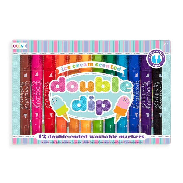 *NEW* Ooly Double Dip Scented Double Ended Washable Markers