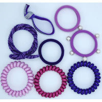 *NEW* Lily & Momo Hair Ties Color Pop Set
