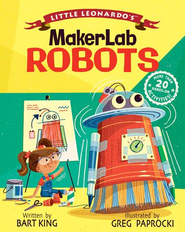 Little Leonardo's MakerLab Books