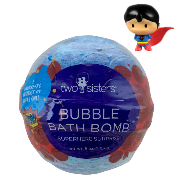 *NEW* Two Sisters Spa Superhero Surprise Bubble Bath Bomb