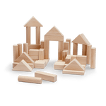 *NEW* Plan Toys 40 Unit Blocks