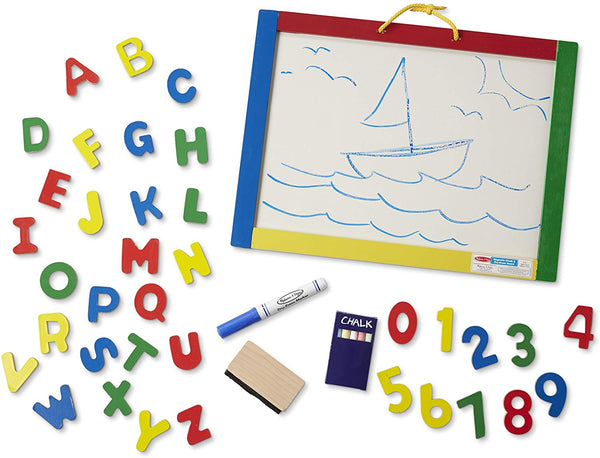 Melissa & Doug Magnetic Chalk/Dry Erase Board