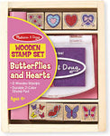 Melissa & Doug Butterfly & Hearts Stamp Set