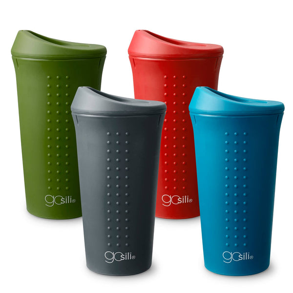GoSili To Go Cup, Solid Colors