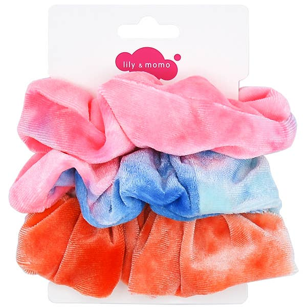 *NEW* Lily & Momo Velvet Scrunchie Trio