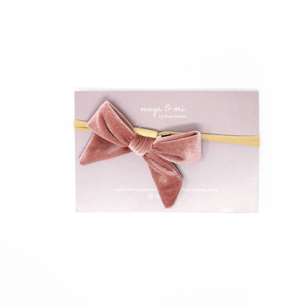 *NEW* Three Hearts Maya Headband Clip/Bow