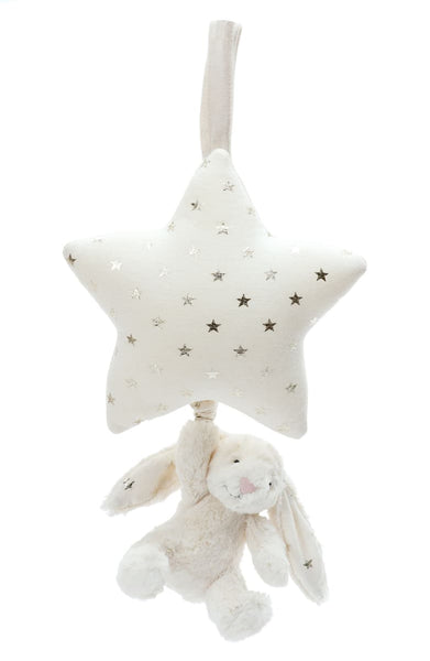 Jellycat Musical Pull - Twinkle Bunny