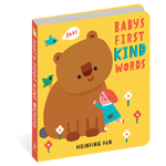 Baby's First Kind Words Board Book