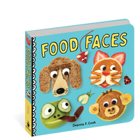 Food Faces Board Book