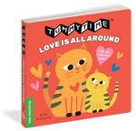 Tummy Time: Love is All Around Board Book