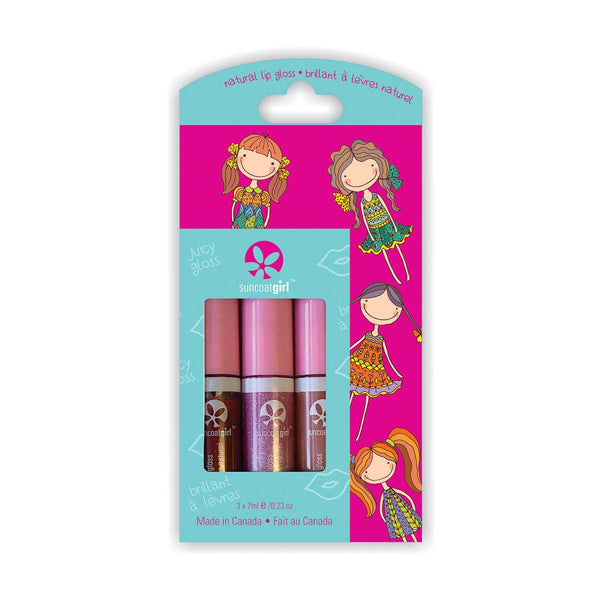 *NEW* Suncoat Lip Gloss Trio