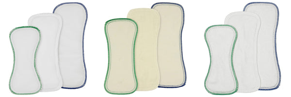 Best Bottoms Snap-in Inserts - Set of 3