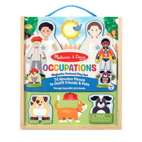Melissa & Doug Magnetic Dress Up - Occupations