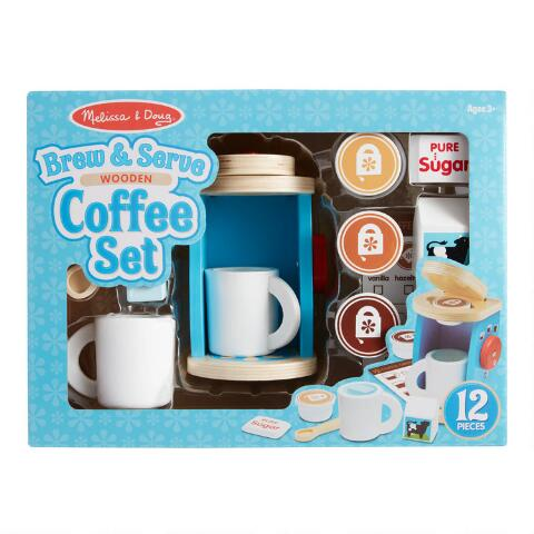 Melissa & Doug Coffee Set