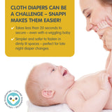 *NEW* Snappi Cloth Diaper Fasteners - 3 Pack