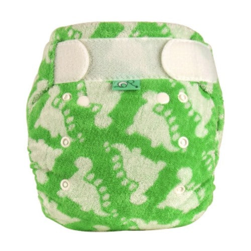 Tots Bots Size 2 Bamboozle Fitted Diaper