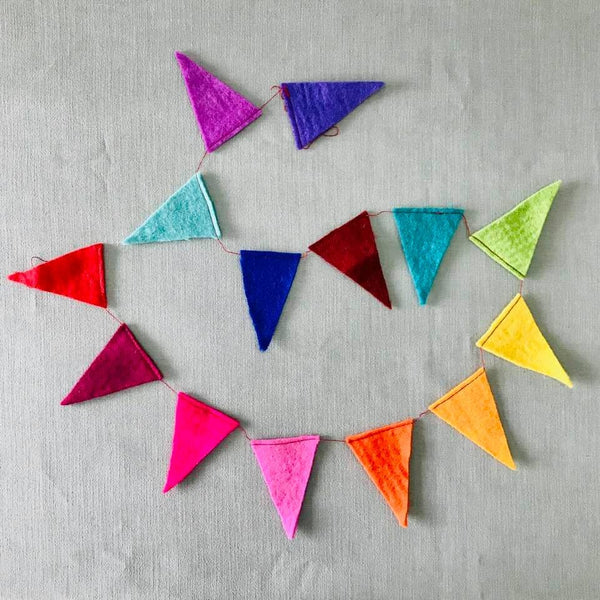 *NEW* The Winding Road Felt Rainbow Flag Bunting