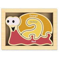 BeginAgain Mini Snail Color Puzzle