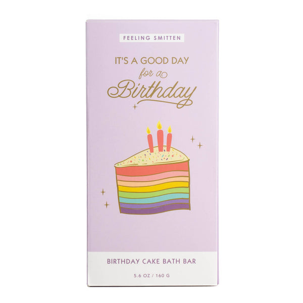 *NEW* Feeling Smitten Birthday Rainbow Bath Bomb Bar