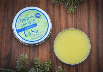LüSa Organics Children's Breathe Easy Chest Rub