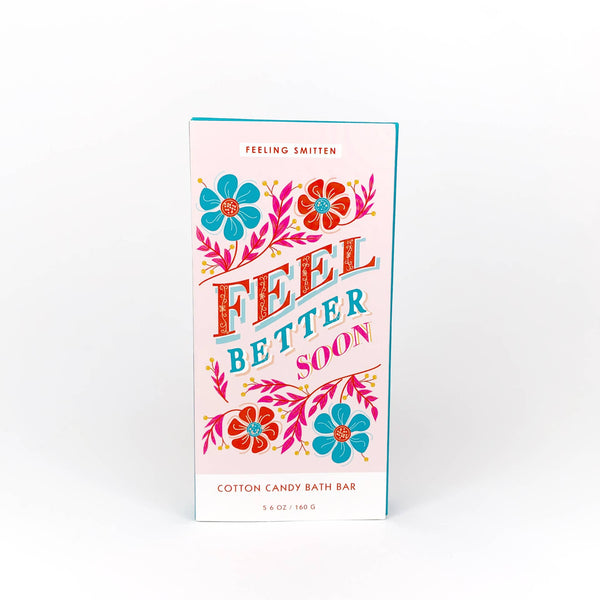 *NEW* Feeling Smitten Feel Better Soon Rainbow Bath Bomb Bar