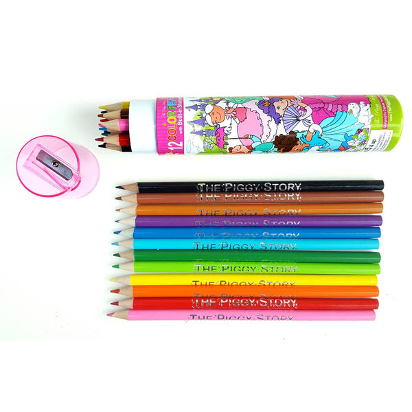 *NEW* The Piggy Story Colored Pencils