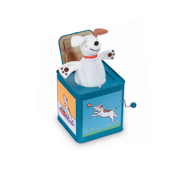 *NEW* Jack Rabbit Designs Dog Jack-in-the-Box