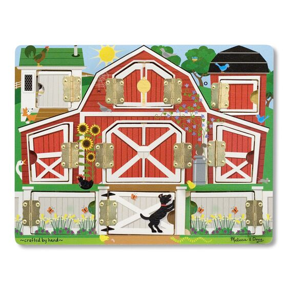 Melissa & Doug Magnetic Farm Hide and Seek Board