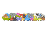 BeginAgain Jumbo Animal Parade A-Z Puzzle
