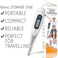KeaBabies Flexible Waterproof Digital Thermometer