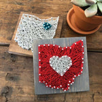 *NEW* Strung by Shawna DIY String Art Kit - Louisiana