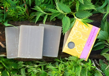 LüSa Organics Unscented Herbal Shampoo Bar