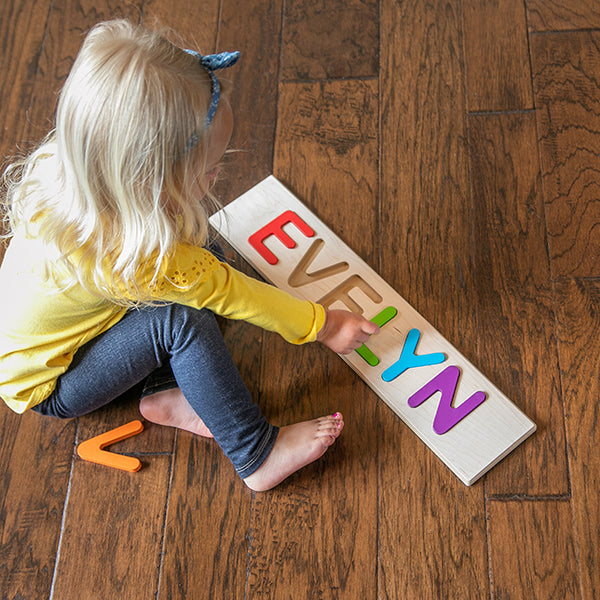 Fat Brain Personalized Name Puzzle