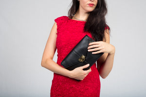 Viatu Genuine Leather Clutch Evening Bag