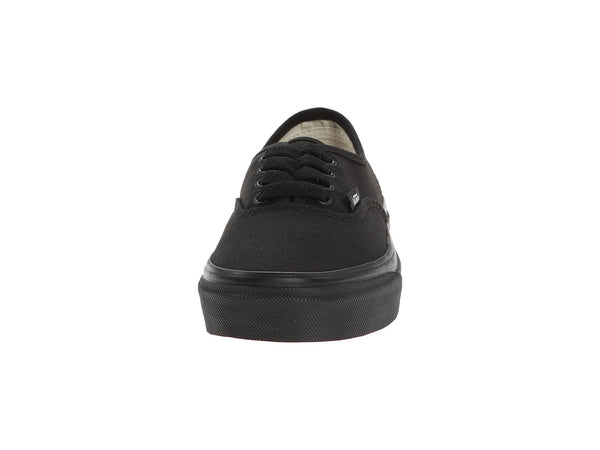 Vans Authentic Black/Black Kid's Shoes