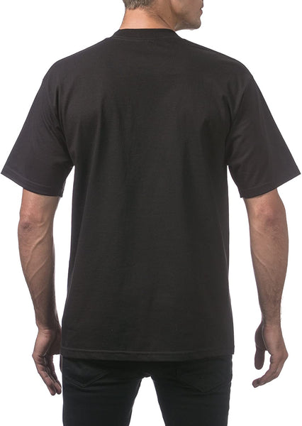 Pro Club Heavy Crew T s/s Men's Black Shirt
