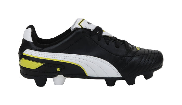 Puma Esito Finale R HG Black/Yellow Little Kids/Big Kids Soccer Cleats