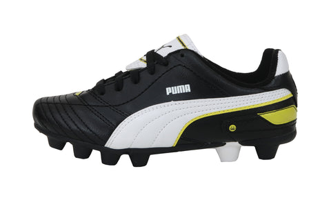 Puma Esito Finale R HG Black/Yellow Kids Soccer Cleats