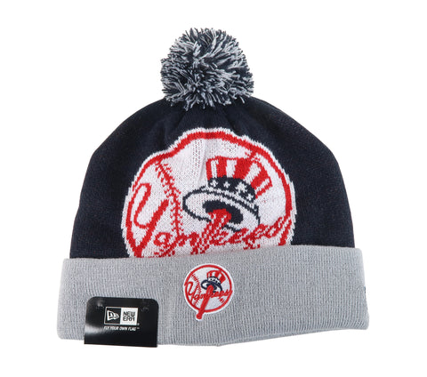 New Era New York Yankees Navy/Gray Unisex One Size Beanie