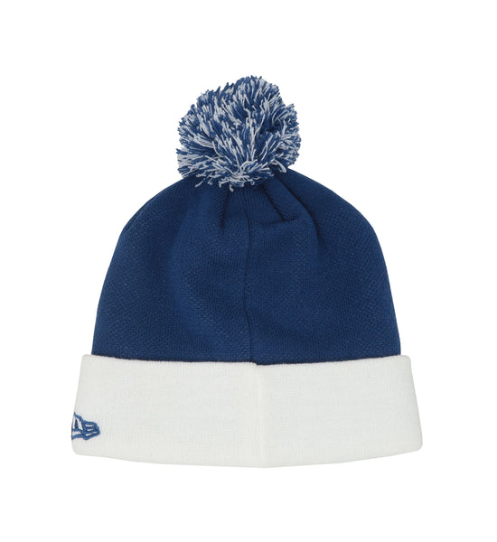 New Era Indianapolis Colts Royal/White Unisex One Size Beanie