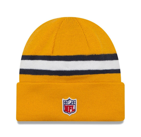 New Era Los Angeles Rams Gold/Navy Unisex Beanie One Size