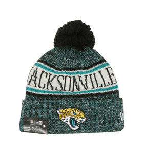 New Era Jacksonville Jaguars OF18 Black/Green Unisex Beanie One Size