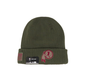 New Era Washington Redskins 18STS Green/Red Unisex One Size Beanie
