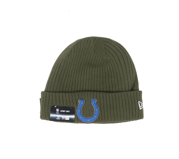 New Era Indianapolis Colts 18STS Green/Royal Men Beanie