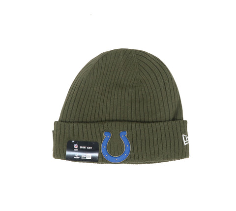 New Era Indianapolis Colts 18STS Green/Royal Unisex One Size Beanie