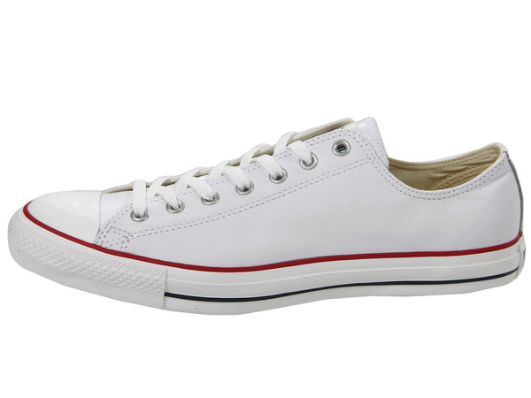 Converse All Star White Low Top Leather Men Shoes